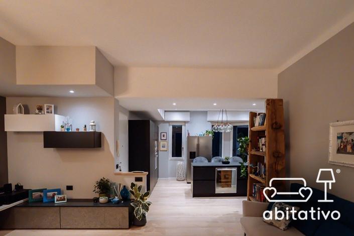 arredamento interni cucina soggiorno
