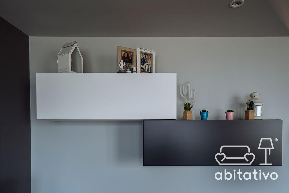 mobili soggiorno sospesi moderni
