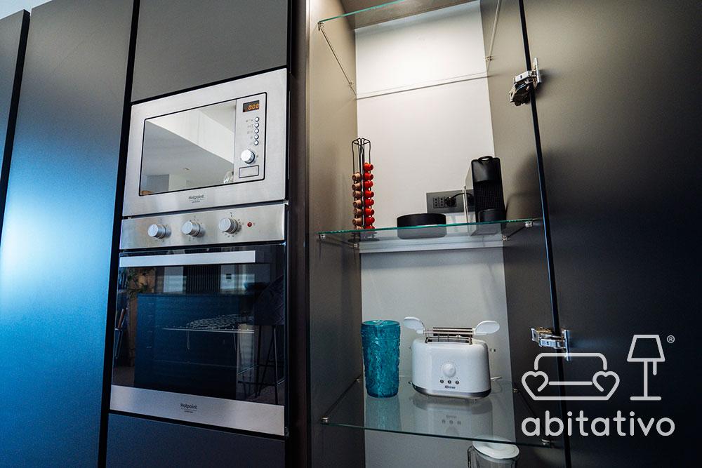 disposizione mobili cucina moderna