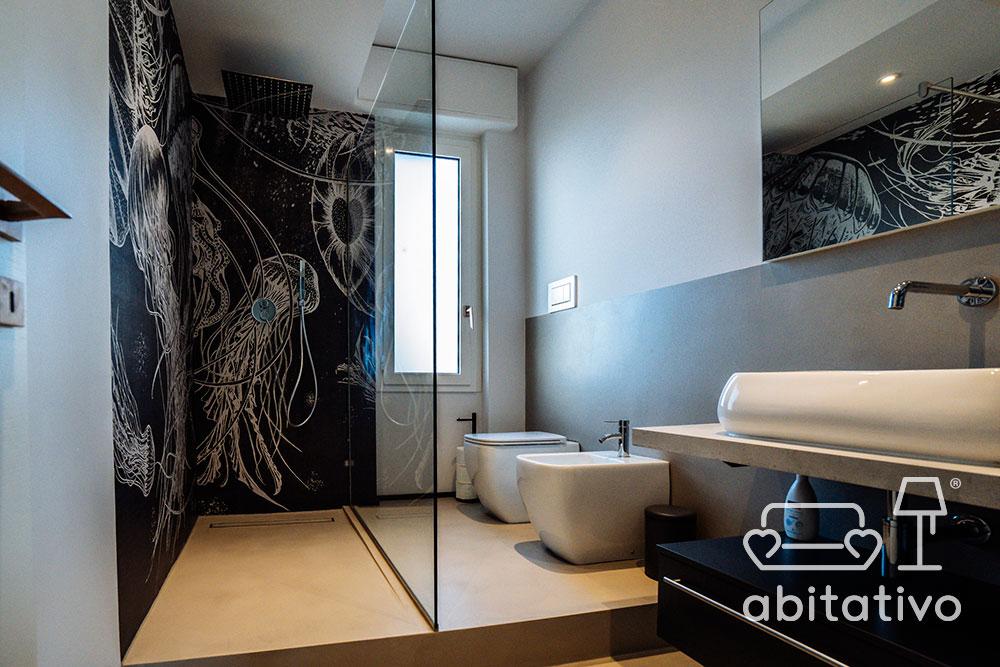 parete doccia decorazione design