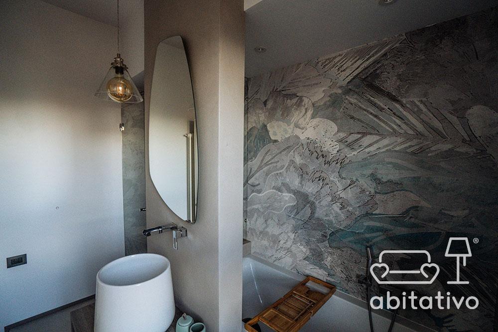 idee design parete bagno