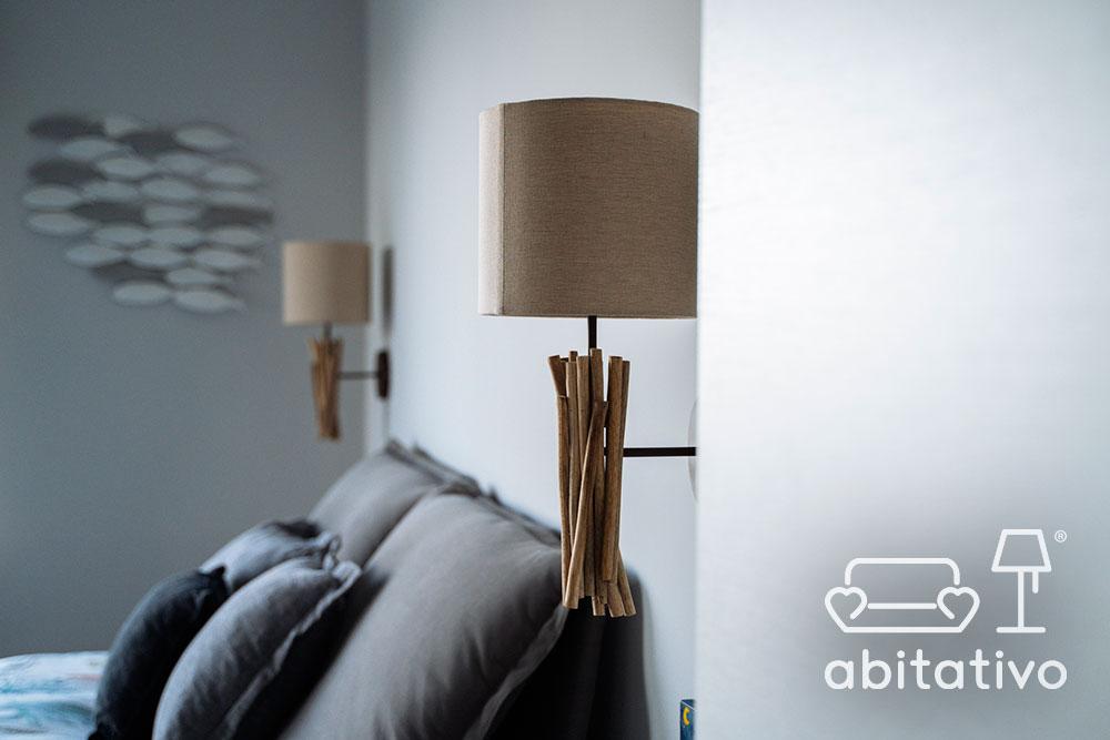 luce camera da letto design