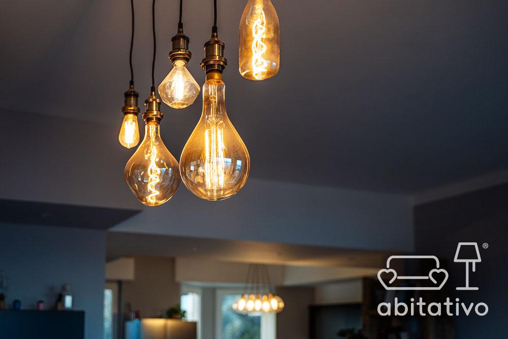 lampadario stile industrial