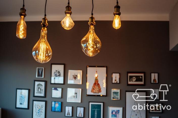 lampadari industrial chic