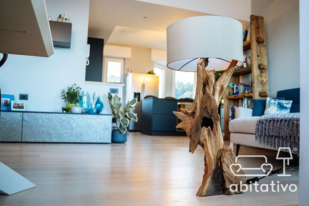 arredo legno grezzo moderno