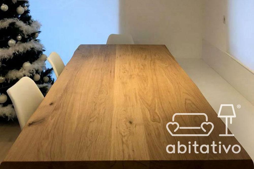 tavolo legno zona giorno