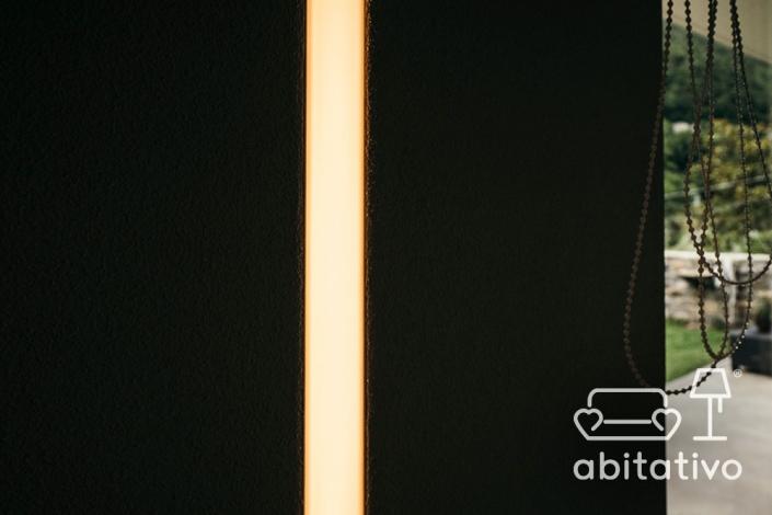 illuminazione open space abitativo