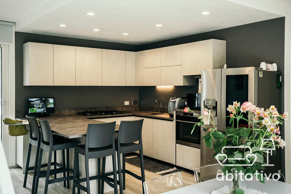 ristrutturare cucina villa moderna
