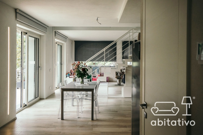 open space villa moderna