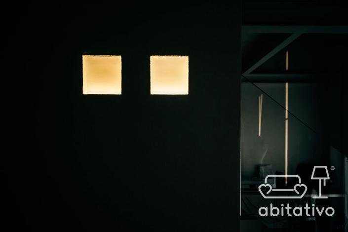 illuminazione villa moderna