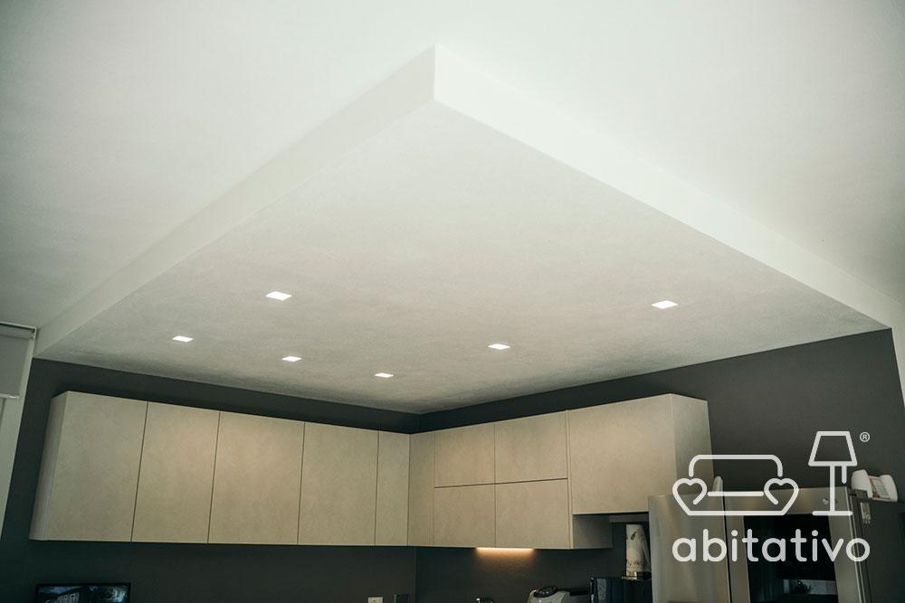 faretti illuminazione cucina