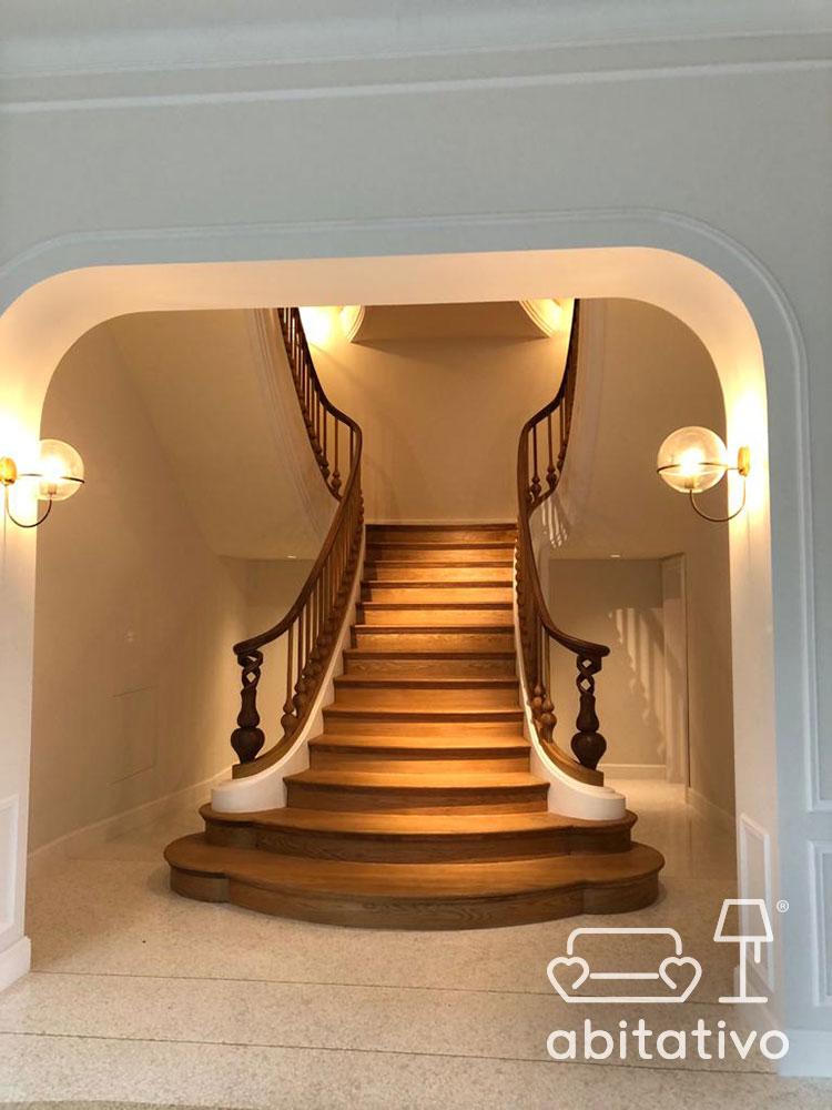 ristrutturare interni villa classica