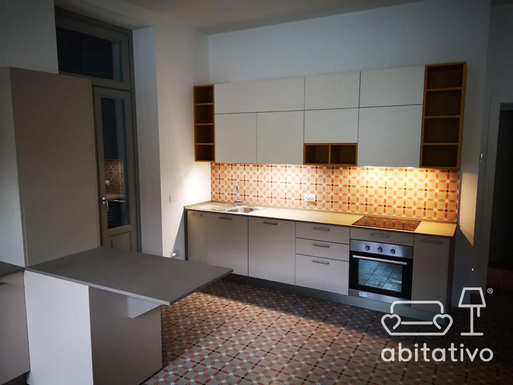 pavimenti piastrelle cucina moderna