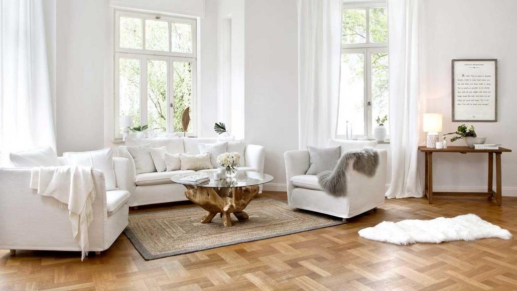 arredamento moderno total white
