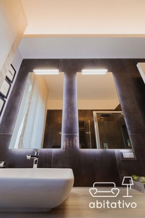 doppio specchio bagno