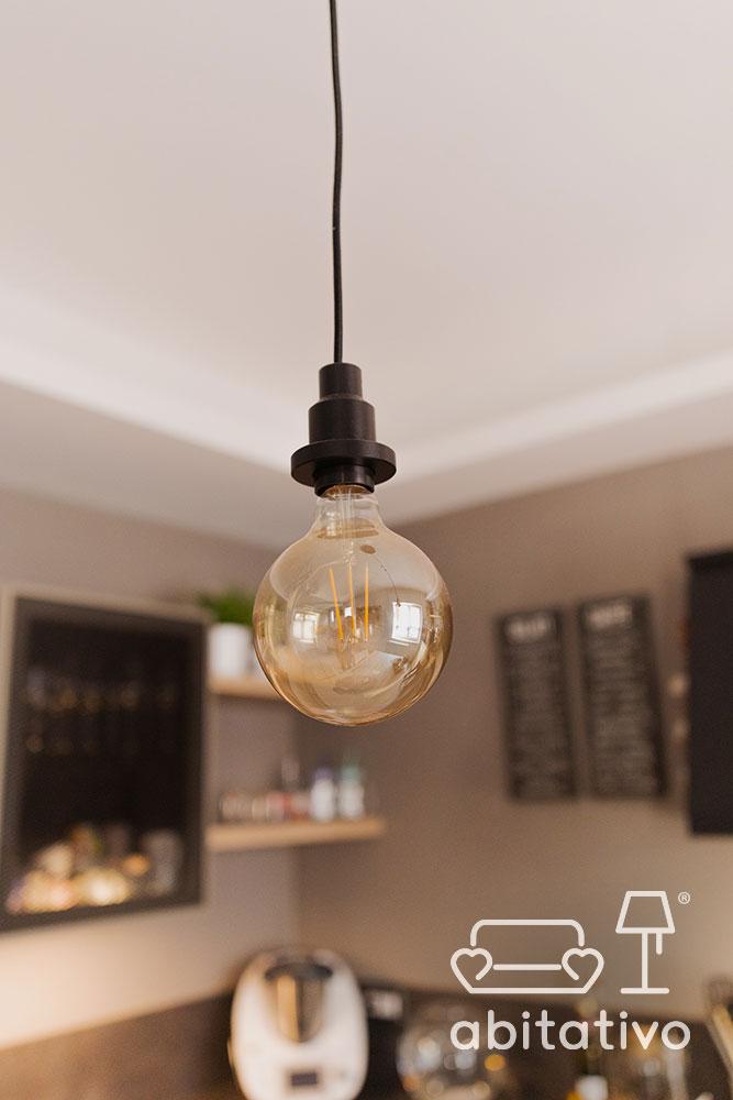 lampadine stile industriale