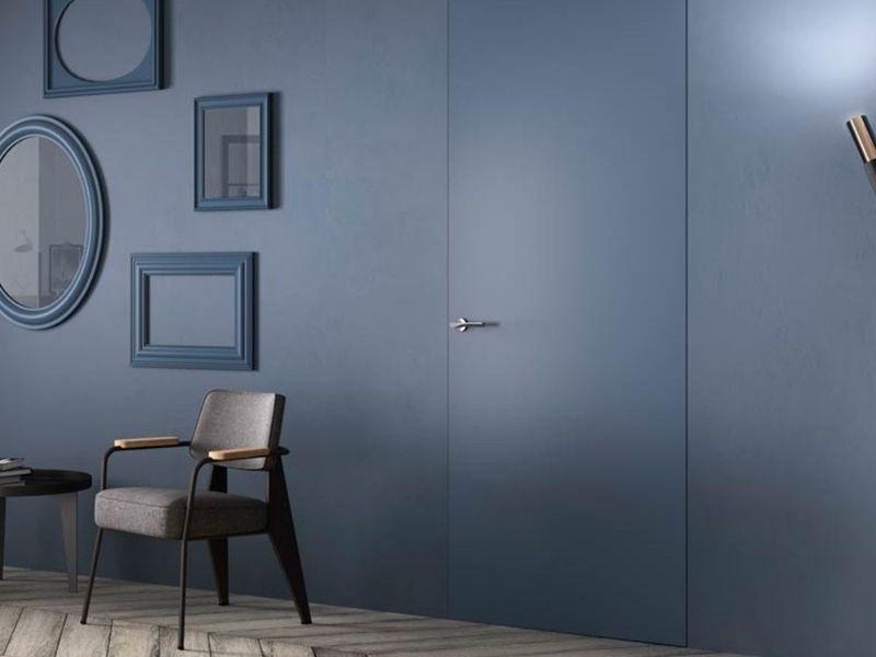 porte filo muro colore pareti