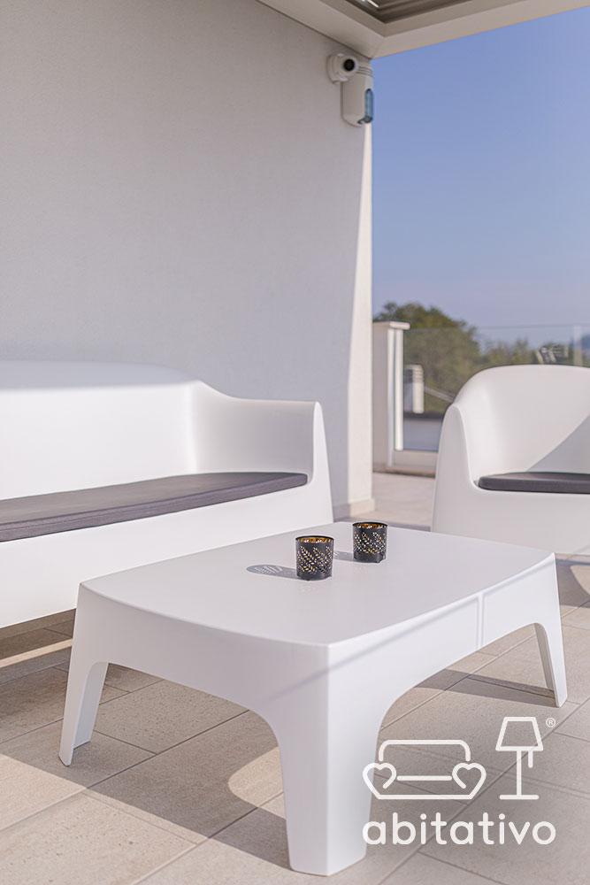 arredo terrazzo minimal