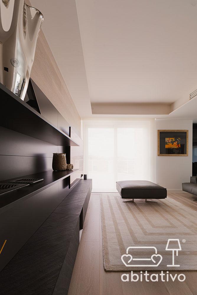 progetto arredo soggiorno