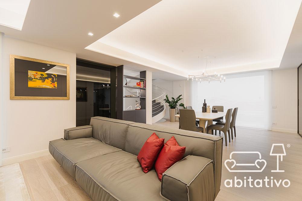 arredamento soggiorno abitativo