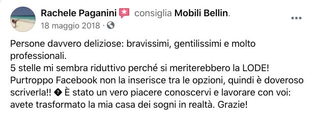 opinioni mobili bellin abitativo