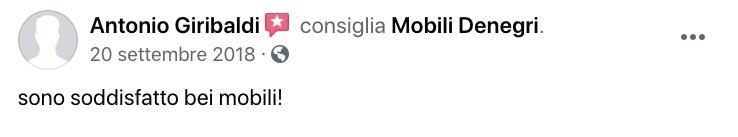 opinioni mobili denegri abitativo