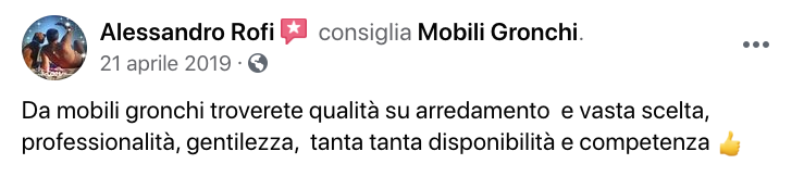 recensioni mobili gronchi abitativo