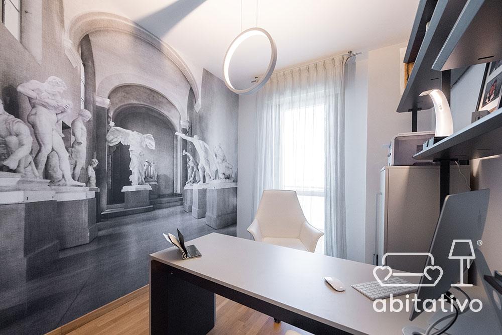 progetto interni studio moderno
