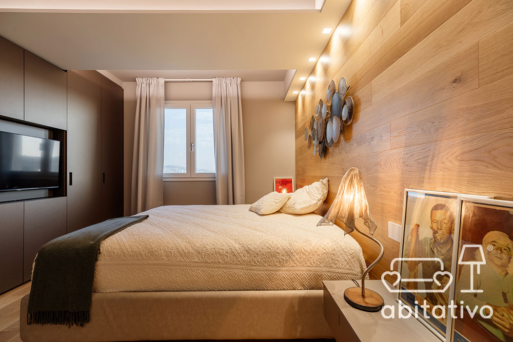 progetto arredo camera da letto