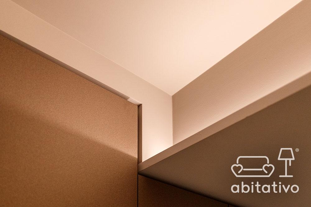 progetto luci appartamento moderno