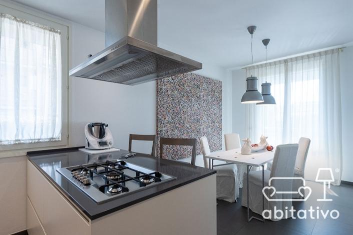 cucina con isola open space