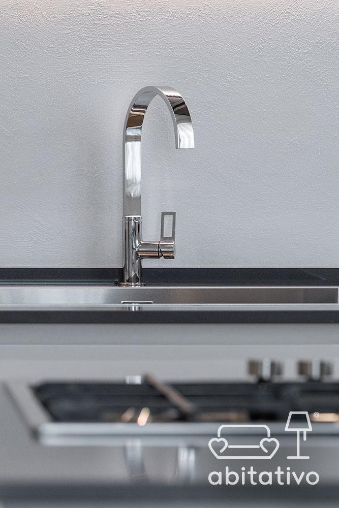 lavandino cucina acciaio