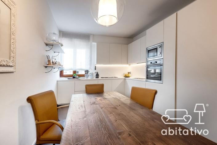 mobili cucina moderna total white