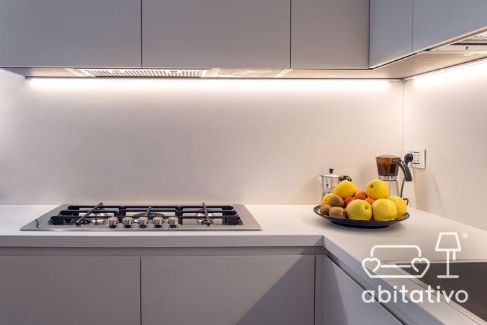 cucina angolare moderna abitativo