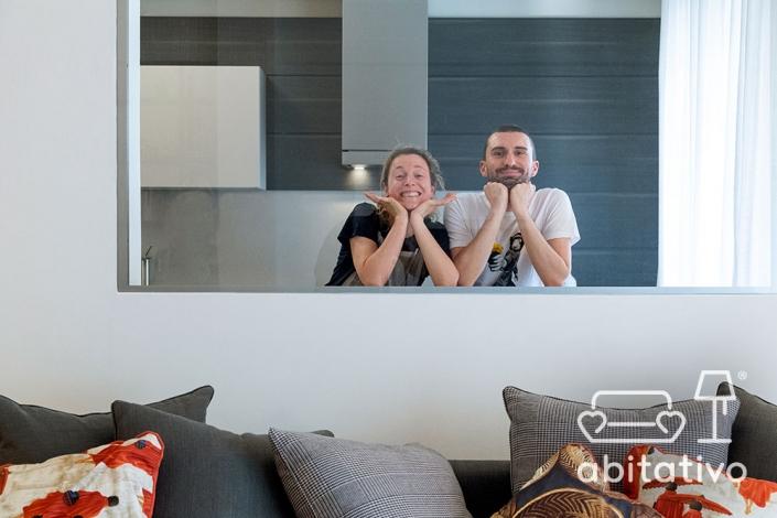 progetto interni casa moderna abitativo