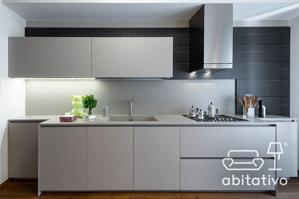 progetto cucina lineare