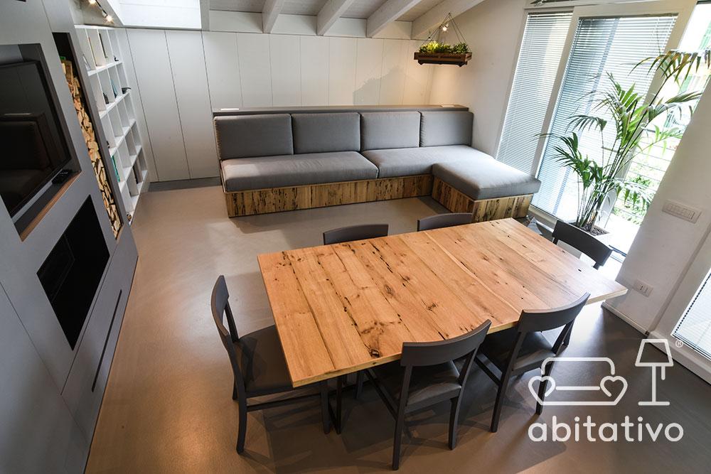 mobili arredo loft moderno