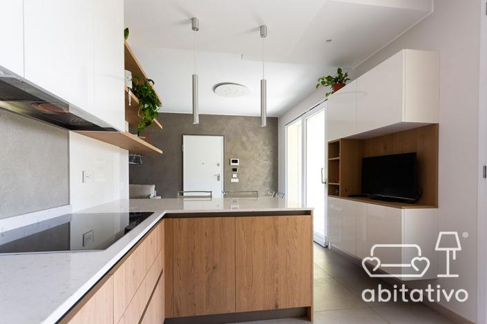 cucina angolare moderna