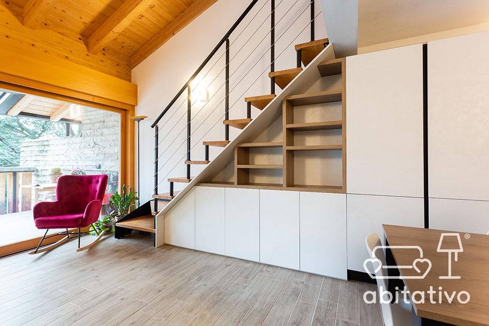 arredo legno openspace moderno