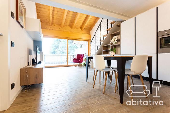 mobili arredo legno openspace