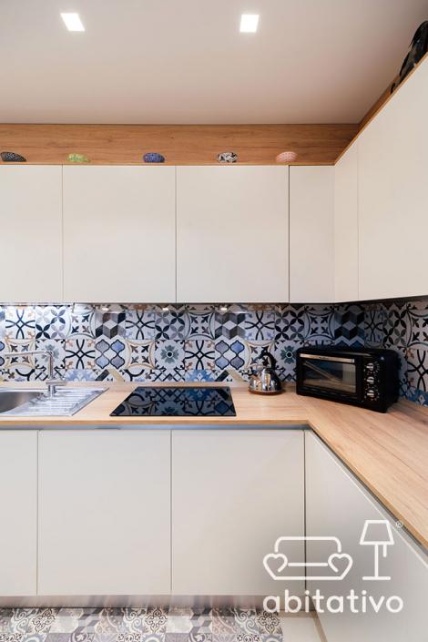 progetto cucina bianca