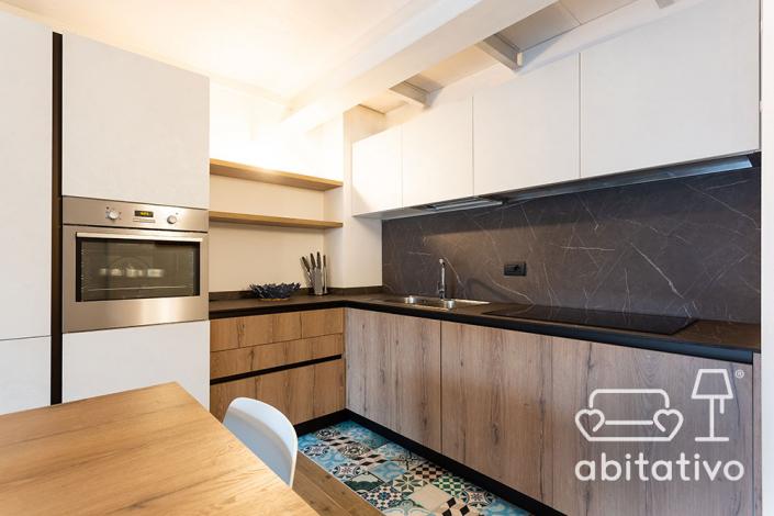 progetto cucina moderna su misura