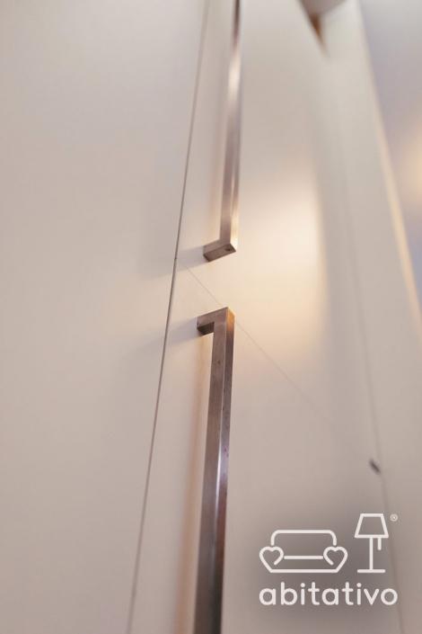 armadio bianco moderno