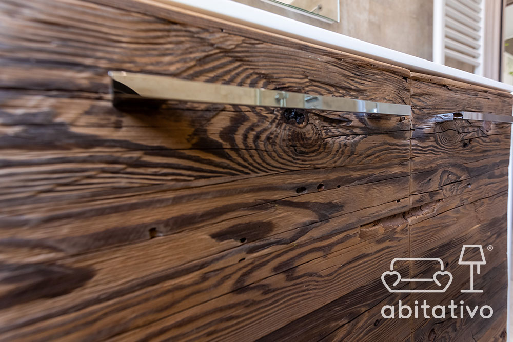 mobile design legno grezzo