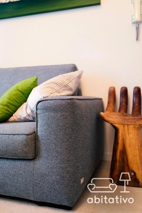 tessuti divano moderno