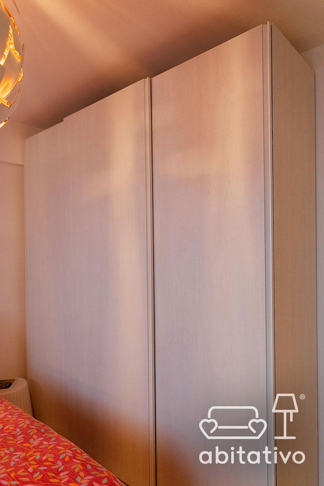 armadio su misura camera