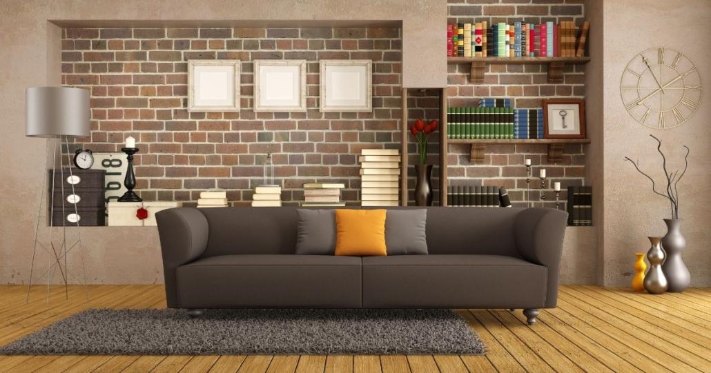 nicchie muro soggiorno