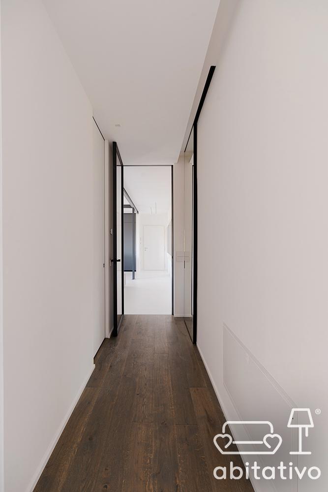 corridoio stile minimale