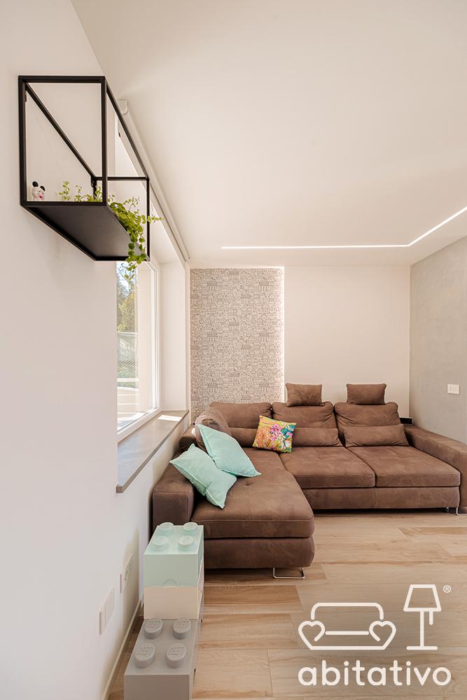 divano angolare moderno