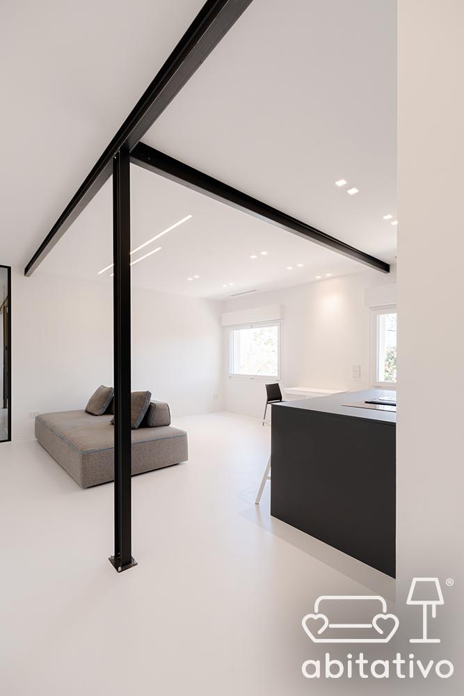 illuminazione open space minimal